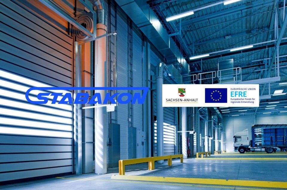 Mit Förderung der Europäischen Union investieren wir in moderne Anlagentechnik